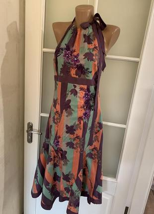 Платье сарафан натуральный шёлк karen milne