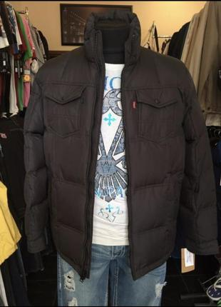 Куртка пуховик levi's из сша (100% оригинал) есть размеры,levis