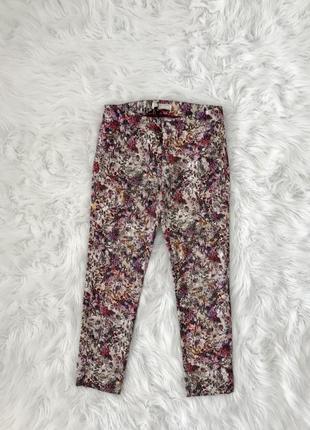 Стильные зауженные брюки xs/s zara оригинал 🇪🇸