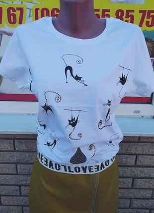 Короткие футболки. размер xs, s, m