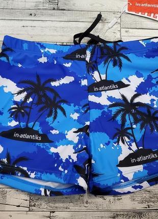 Яркие купальные шорты р.l-4xl