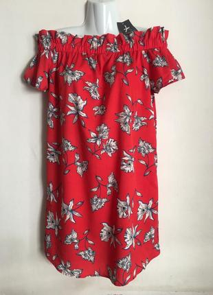 Платье для беременных принт цветы atmosphere новое l