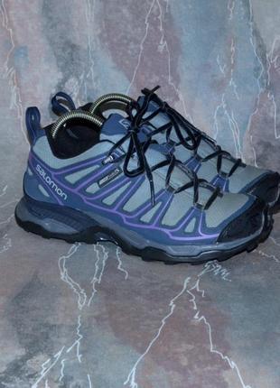 Фирменные трекинговые кроссовки salomon x-ultra