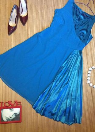 Платье с плиссе teatro