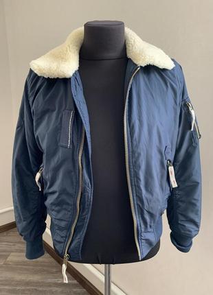 Alpha industries чоловічий бомбер куртка курточка розмір s