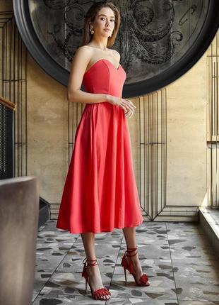 Нежное корсетное платье, много цветов