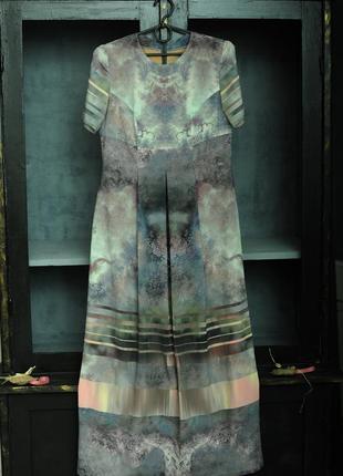 Платье, ткань max mara