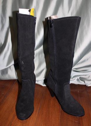 ... Замшеві весняні жіночі чоботи. виготовлені в іспанії.2 ... 5b3d025881fcb