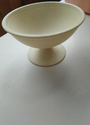 Ссср чашка для мороженного креманка платмассовая