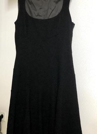 Платье миди из шерсти moschino cheap&chic m