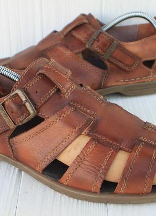 Туфли camel active кожа германия 44,5р сандалии босоножки мокасины