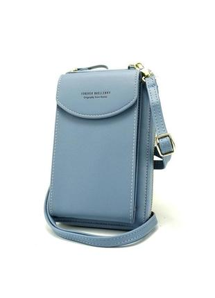 Женская сумка-кошелек baellerry forever young голубой