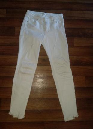 Білі джинси, белые джинсы, white jeans