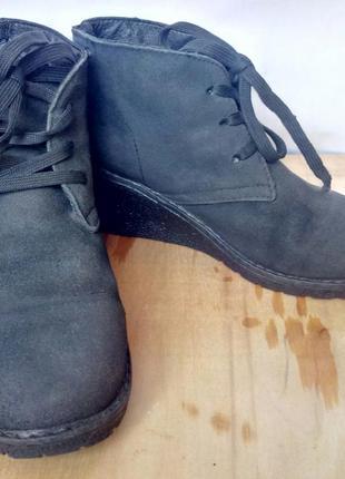 Ботинки на осень,на платформе kari, t. taccardi