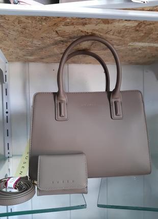 Женская сумка с кошельком susen