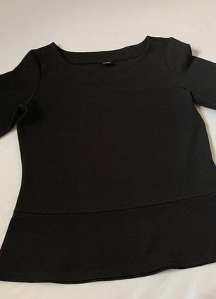 Блузка кофточка чёрная s.oliver