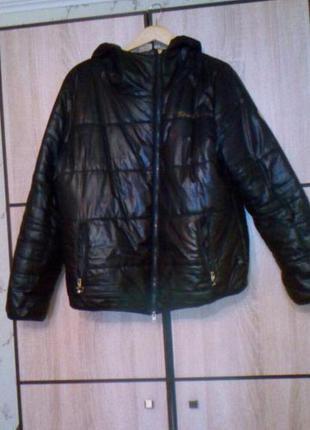 Дутая курточка demix