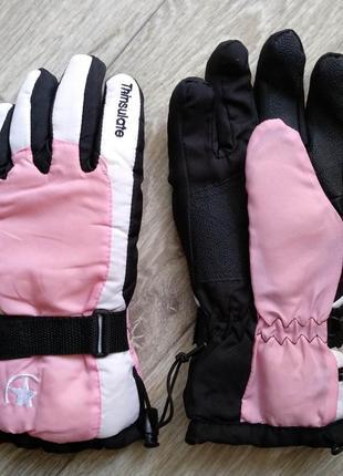Перчатки лыжные m размер 8 женские thinsulate