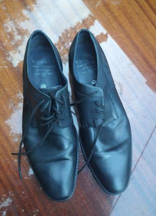 Туфли bugatti. германия. размер 43.