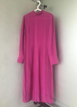 Красивое платье макси сказачного цвета