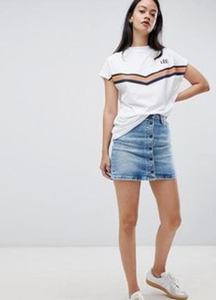 Юбка джинсовая x-mail