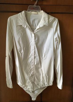 Белая рубашка боди reserved