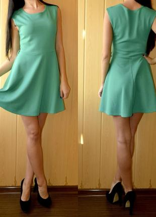 Платье atmosphere изумрудного цвета