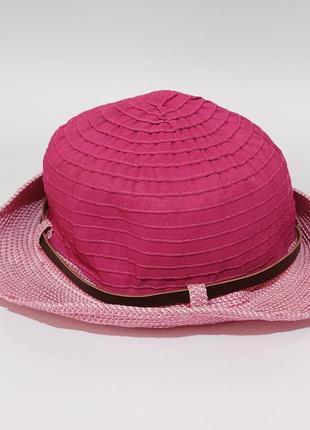 🛒👍оригинальная одежда и обувь              детская панамка шляпа шляпка с ремешком