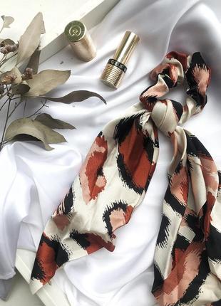Тренд 2020🔥резинка-платок, леопард 🐆, твилли, лента для волос, платок в волосы