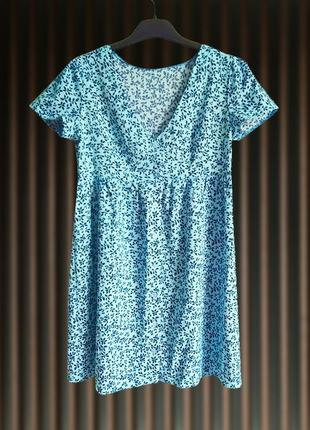 Нежное мини платье, сарафан