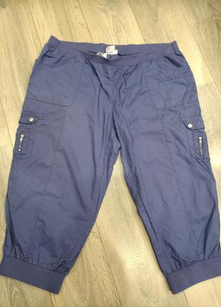 Капри, бриджи,  котоновые брюки 7/8 от bonprix collection