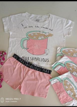 Пижама домашний комплект от бренда sinsay s-м