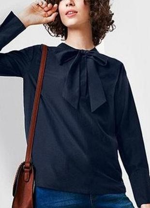 Блуза-рубашка с шелком.