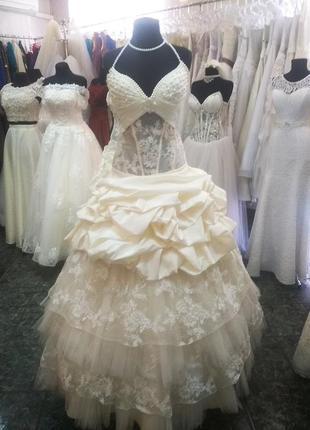 Распродажа. свадебное платье