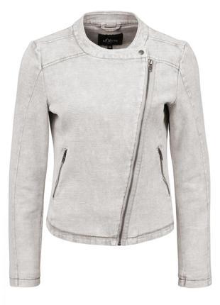 Куртка s.oliver 41.603.54.8141.8030 серого цвета