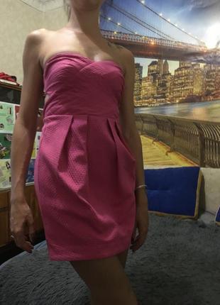 Коктейльное нарядное жаккардовое платье asos