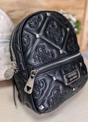 Стильный женский рюкзак guess черного цвета 💜