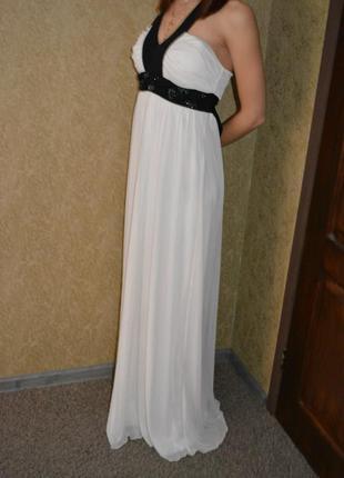 Платье в пол выпускное платье