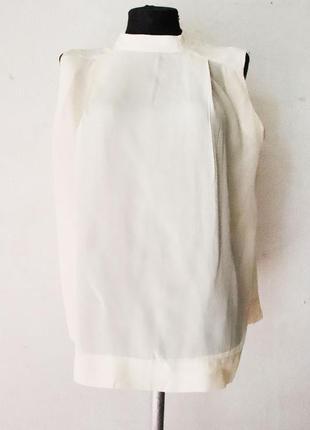 Шелковая блуза cos 100% шелк