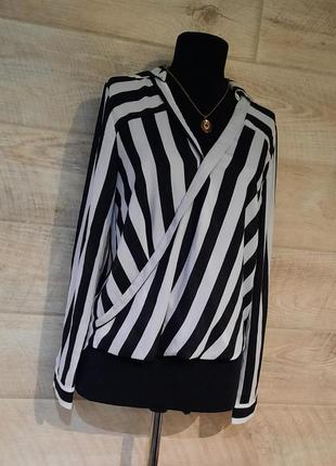 Актуальная блуза в полоску / м,л