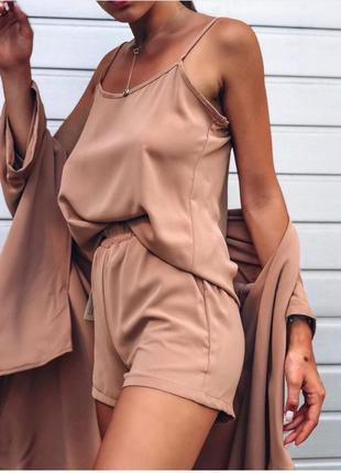 Шёлковой костюм