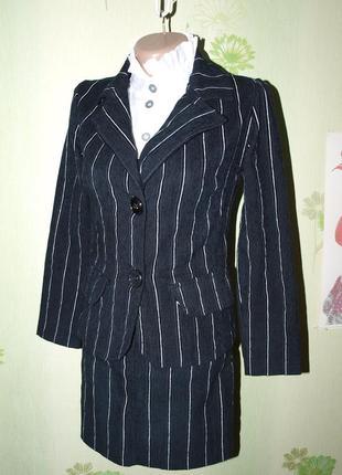 Школьный костюм в идеале девочке 146-152-ателье- идеал