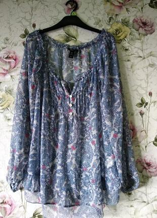 Блуза туника для беременной h&m mama 48-52р