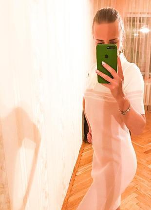 Новое платье поло( рубчик)