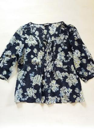 Шикарная лёгкая натуральная блузка