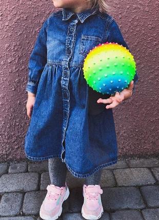 Джинсовое платье на девочку 18 мес  petite bandeau