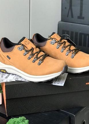 Мужские трекинговие ботинки оригинал merrell ontario waterproof