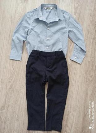 Рубашечка і штанішки h&m