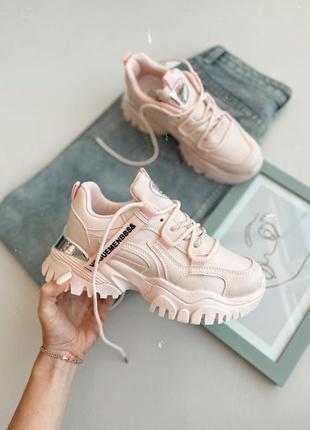 Кроссовки stark розовые