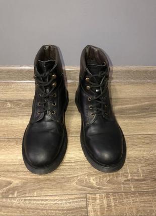 Мужские кожаные ботинки dr martens